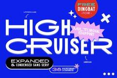 High Cruiser | Modern & Bold Sans Product Image 1