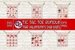 Valentine's Day | Tic Tac Toe Bundle SVG DXF EPS PNG Product Image 1
