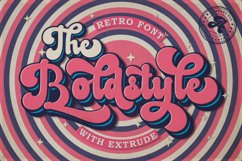 The Boldstyle | Retro Script Product Image 1