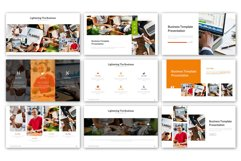 Lightening of Business Presentation Template Product Image 6