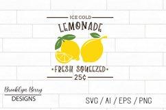 Lemonade Sign SVG Product Image 1