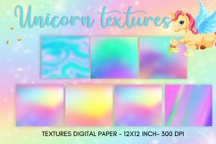 Unicorn background, unicorn texture, digital paper Product Image 3