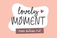 Lovely Moment Product Image 1