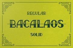 Bacalaos - Decorative Typeface Product Image 3
