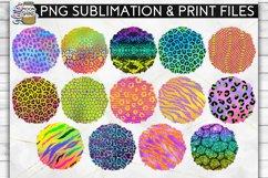 Colorful Animal Print Bundle 42 Sublimation Background PNG Product Image 3