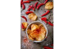Potatoes chips with chili peppers Product Image 1