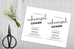 Rustic Rehearsal Dinner Invitation, Invitation Template Product Image 5
