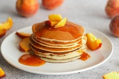 Pancakes with apricot jam Product Image 1
