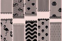 Lace pattern procreate brushes Product Image 6