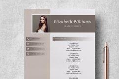 Resume Template   CV Cover Letter - Elizabeth Williams Product Image 4
