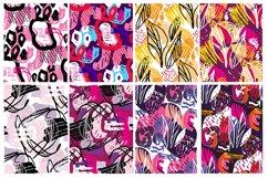 Abstract hand drawn pattern mega set Product Image 4