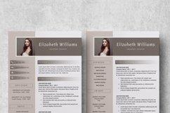 Resume Template   CV Cover Letter - Elizabeth Williams Product Image 6