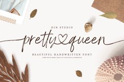 Pretty Queen Lovely Brush Font Product Image 1