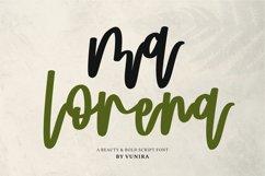 Ma Lorena   A Beauty & Bold Script Font Product Image 1