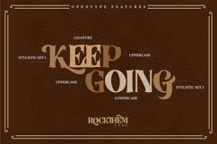 Rockthem   Classic Vintage Font Product Image 3