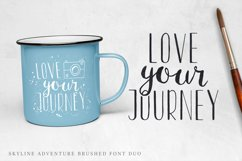 Font Duo Skyline Adventure Product Image 2