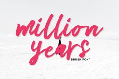 million years Brush Product Image 1