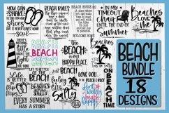 BEACH BUNDLE - 18 DESIGNS - Beach SVG PNG EPS DXF - VOL 5 Product Image 1