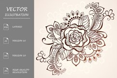 Rose Henna ( tattoo ) Product Image 1