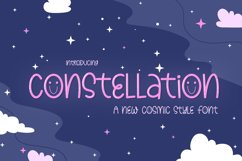 Constellation Font Product Image 1