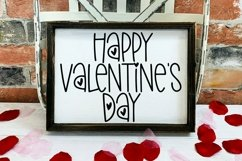 Web Font Love & Happiness - A Valentine's Day Hand-Lettered Product Image 4
