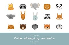 Cute animal faces Product Image 1
