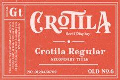 Crotila - Serif Display Product Image 1