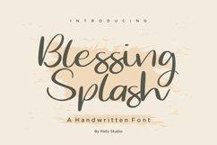 Blessing Splash Handwritten Font Product Image 1