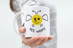 Bee svg Bee happy svg Product Image 6