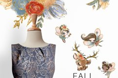 Fall Fairies Clipart Product Image 6