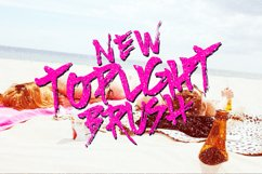 Top Light Brush Typeface Product Image 1