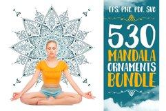 530 Vector Mandala Ornaments Bundle Product Image 1