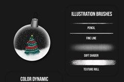 Winter Wonders Brush Kit for Procreate 5 Product Image 2