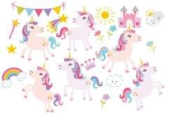 Unicorn Clipart Product Image 2