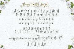 Honey Butter Font Trio & 260 Vectors Product Image 5