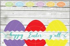 Easter Eggs monogram SVG - Easter bundle mini SVG Product Image 5