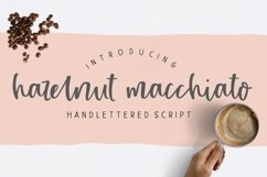 Hazelnut Macchiato Handlettered Script Font Product Image 1