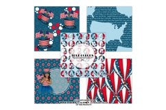 Independence Day Paper Pack Fashion Illustration Planner Product Image 2