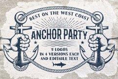 Anchor retro logo templates Product Image 1