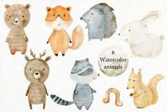 Woodland. Watercolor set. Product Image 2