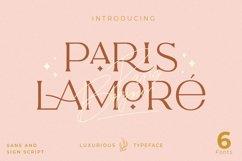 The Paris Lamore Sans & Script Typeface Product Image 1