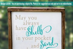 Shells In Your Pocket SVG DXF Cut File LL034A Product Image 2