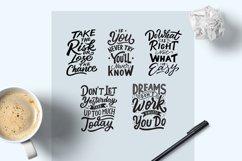 Lettering Motivational Quotes SVG Bundle Vol 3 Product Image 3