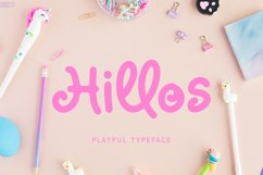 Hillos playful font Product Image 1