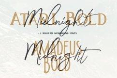 Midnight Brush & SVG Font Product Image 4