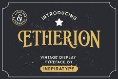 Etherion - Vintage Display font Product Image 1