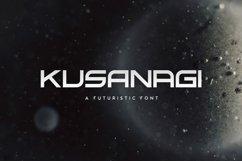 Kusanagi - Futuristic Font Product Image 1