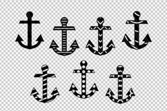Anchor Nautical svg dxf files Product Image 2