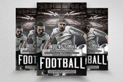 7 Football Match Flyers Bundle Product Image 4