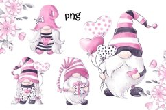 Valentines Gnomes Clipart Product Image 3